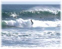 Surfer nördlich von Puerto Vallarta
