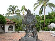 John Huston Denkmal in Puerto Vallarta