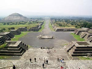 Teotihuacán bei Mexico Stadt