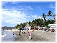Strand bei Sayulita